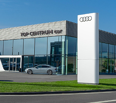 TOP CENTRUM car - pobočka Kyjov